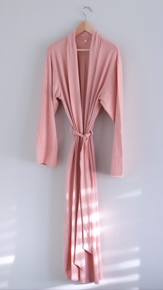 PREORDER - The Tencel Robe - Pink