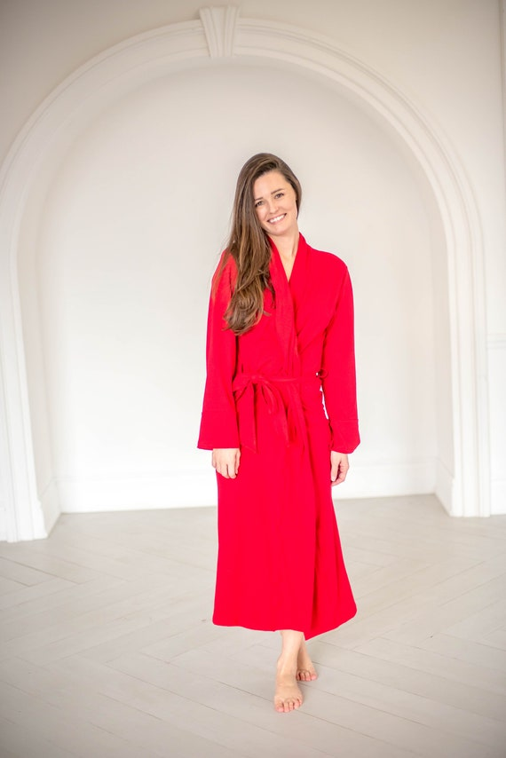 PREORDER - The Bamboo Robe - Fire Red