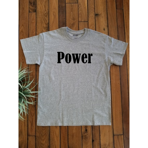 TShirt-T-Shirt-PRINTED TShirts-Power-[TS8]