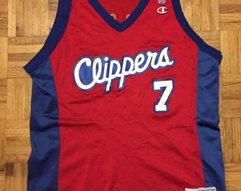 e303bb0ae52b4 Lamar Odom Champion Los Angeles Clippers Size 44 Jersey