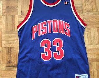 1e73ca15090 Grant Hill Champion Detroit Pistons Size 44 Jersey Rookie