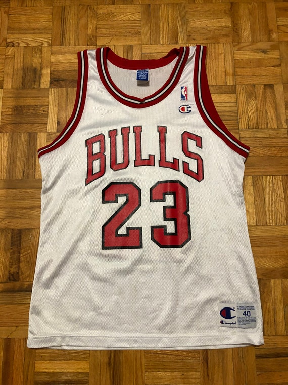Michael Jordan Chicago Bulls Champion Size 40 Jers