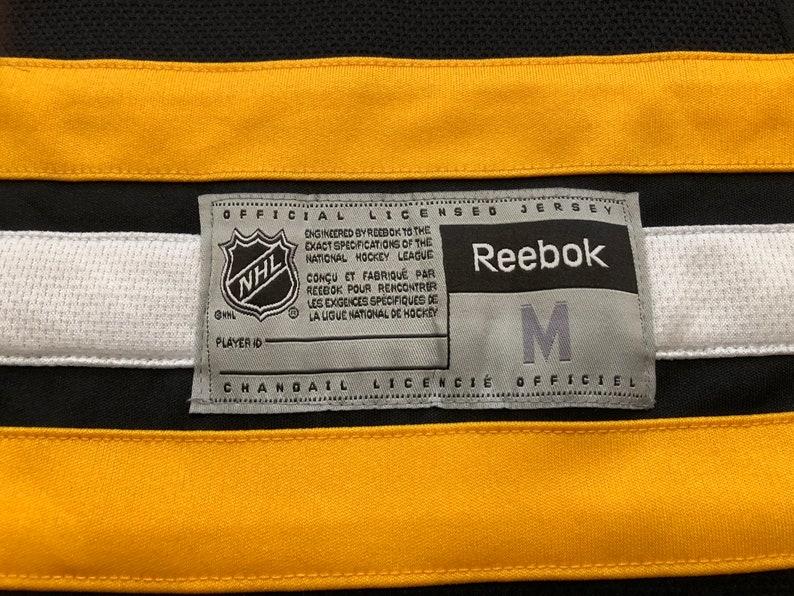 Boston Bruins Reebok Size Medium Blank Jersey