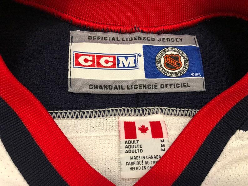 Columbus Blue Jackets 75 Romisher Size Medium Jersey Custom