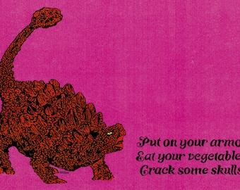 11x17 Art Print Dance Your Cares Away Lava Fire Cave