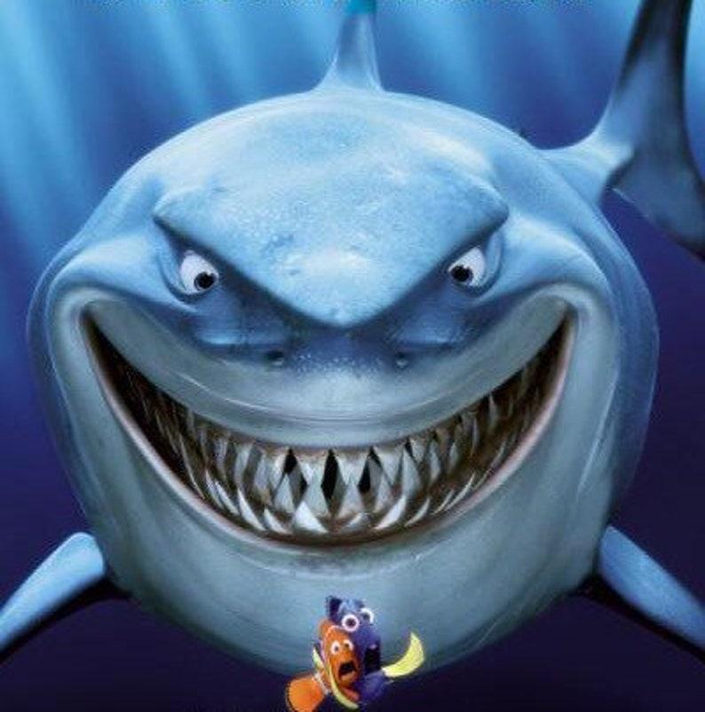 5D Diamond Painting Kits Finding Nemo Shark Bruce Full Drill image 0