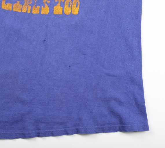Vintage 1960s Funny Graphic T-Shirt by Durack - M… - image 4