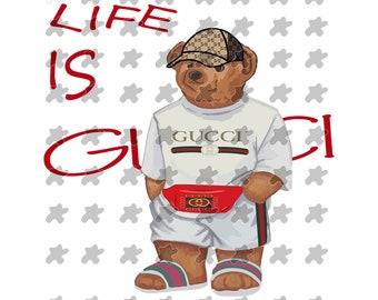 1b2fcd7787d Bear Gucci logo svg