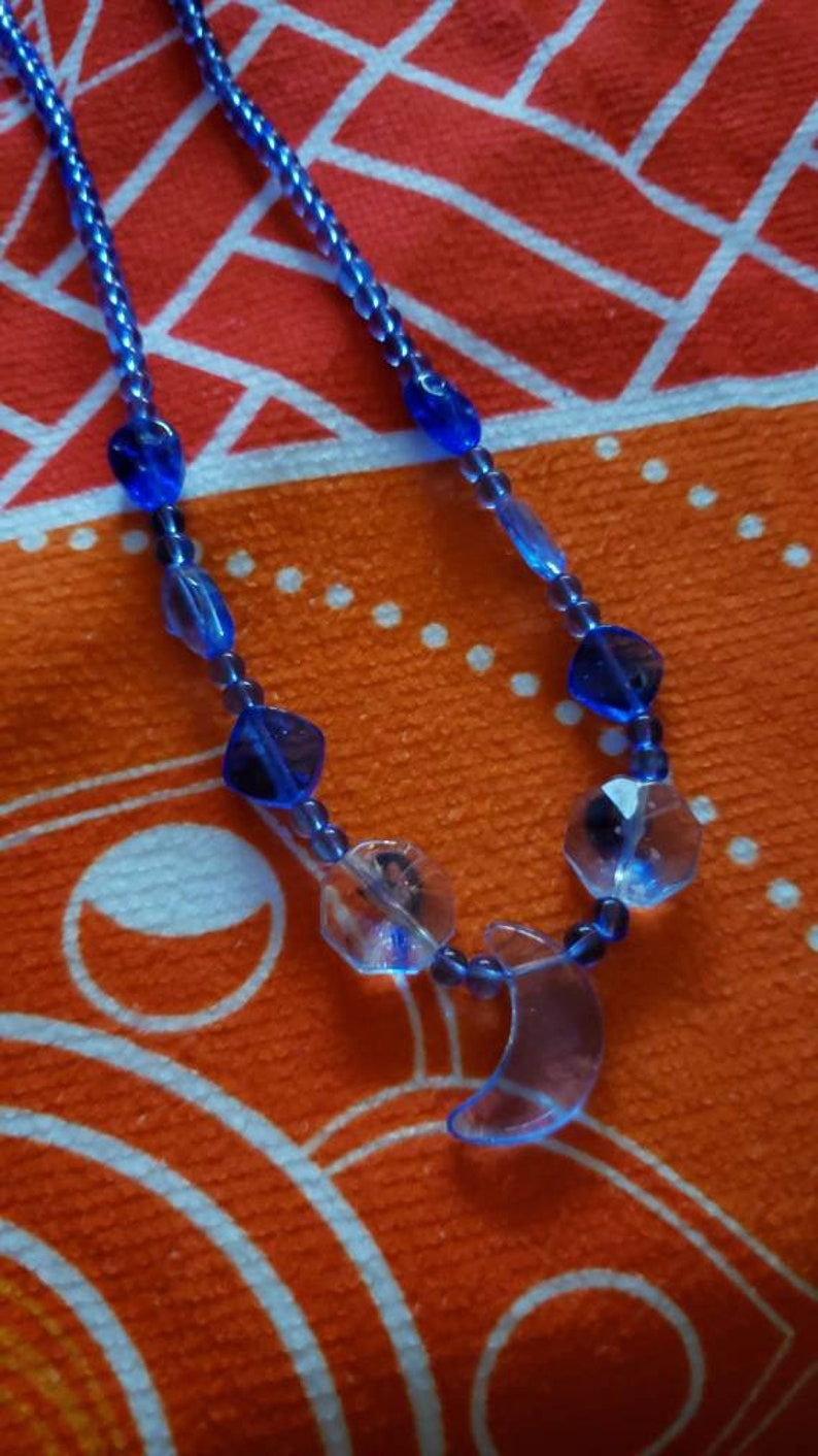 Crystal and Glasswork Necklaces Lunar Energy