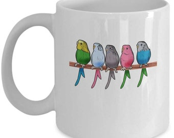 Parakeet Coffee Mug Etsy