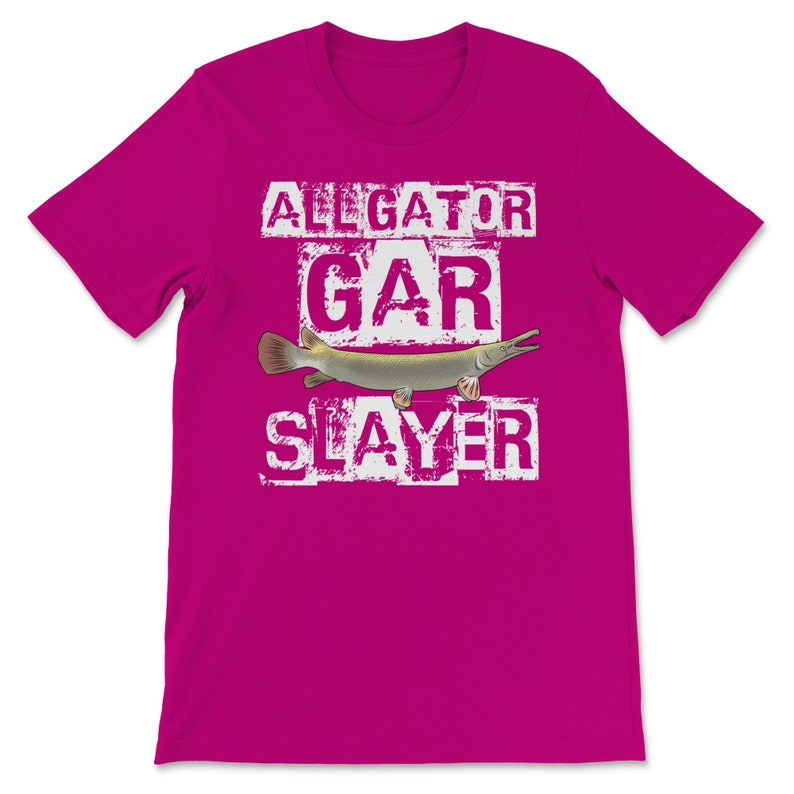Premium Funny Fishing Shirt Alligator Gar Fishing Gift Alligator Gar T-Shirt Fly Fishing Shirt Freshwater Gift Angler Fisherman Father Dad