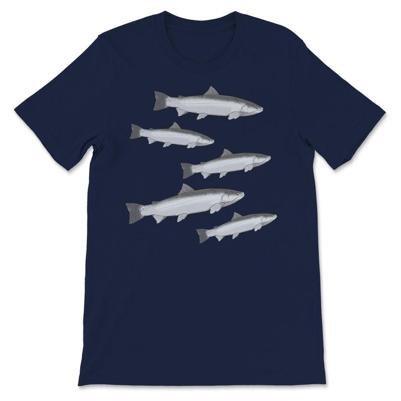 Premium Funny Fishing Shirt Steelhead Fishing Gift Steelhead T-Shirt Fly Fishing Freshwater Fish Gift Angler Fisherman Father Dad UNISEX