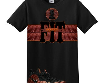 c6111a6ec3ca7 We Will Fit shirt for the NIKE Foamposite PRO Hyper Crimson BLACK copper