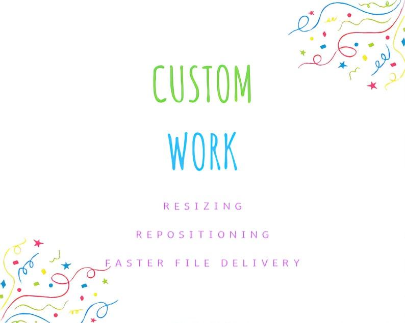 Custom Work  Add-On Listing