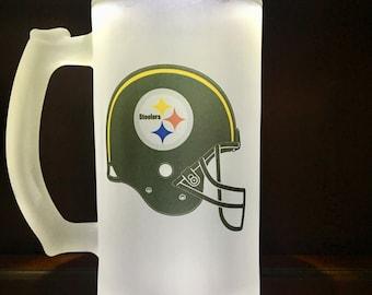 57d303f1 Steelers beer mug | Etsy