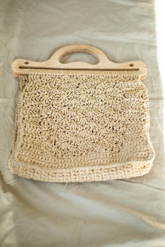 Macrame bag | 70s Vintage Summer bag | Market bag