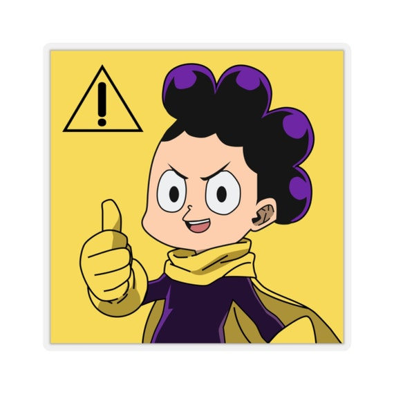 Minoru Mineta Sticker My Hero Academia Stickers Anime Stickers Anime Gift Funny Stickers Japanese Manga Stickers Kiss Cut Stickers