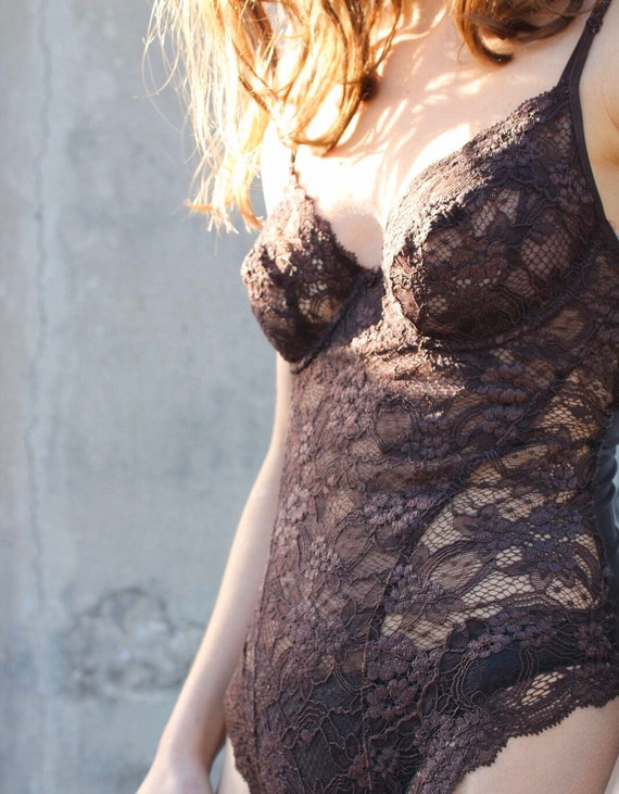 La Perla Lace Bodysuit Made in Italy