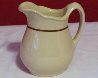 Buffalo china restaurant ware creamer individual diner creamer vintage Buffalo china ironstone creamer cream pitcher milk pitcher