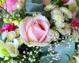 Blank Greetings Card - Bouquet of Flowers