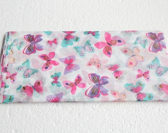 Butterfly Tissue Paper - Gift Wrap - Colourful Packaging - 4 Sheets