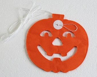 Halloween Pumpkin Bunting / Pumpkin Banner / Halloween Garland / Halloween Decorations