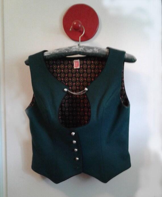 Bavarian folk vest