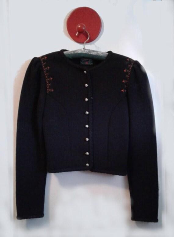 Austrian folk sweater