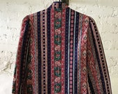 Vintage 70 39 s Quilted Hand-Made Jacket