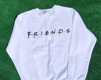cc5637b5 Friends Sweatshirt, Friends tv show sweater, Unisex, Friends Sitcom, Best  Friends, Friends Crewneck Pullover, Tumblr Shirt