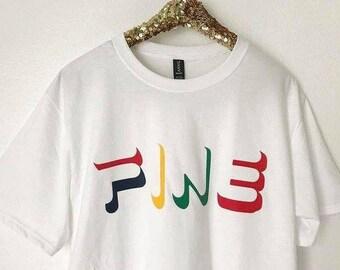 5fe99ef9d Fine T-shirt, Fila Inspired Tee, Streetsyle T-shirt, Baddie Shirt, Slogan  Shirts, Pop Culture Tees, Aesthetic Clothing, Tumblr, Unisex
