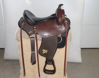Imus 4-Beat® Elite Saddle~ Unique Lightweight Trail Saddle