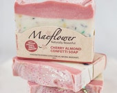 Cherry Almond Natural Soap Bar