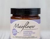 Lavender Body Butter Moisturizing Cream