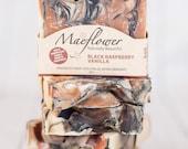 Black Raspberry Vanilla Natural Soap Bar