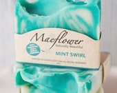Mint Swirl Natural Soap Bar MS1010
