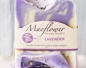 Lavender Natural Soap Bar