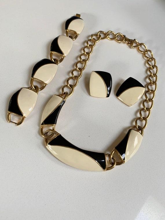1980s Monet Jewelry Set