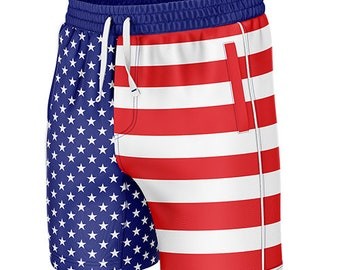 Reality And Ideals Papal Flag Mens Swim Trunks Board Shorts
