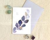Joy Love Peace - Greetings Card