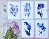 Greetings Cards (5, blank pack), Creative Courage range