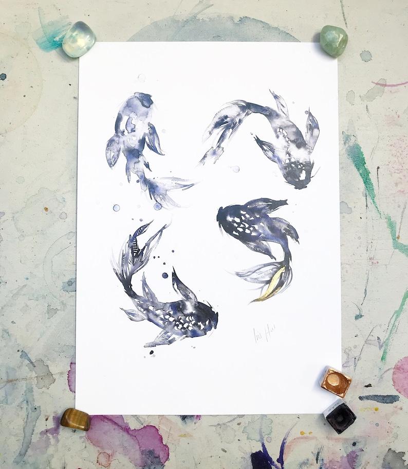 Koi Print image 0