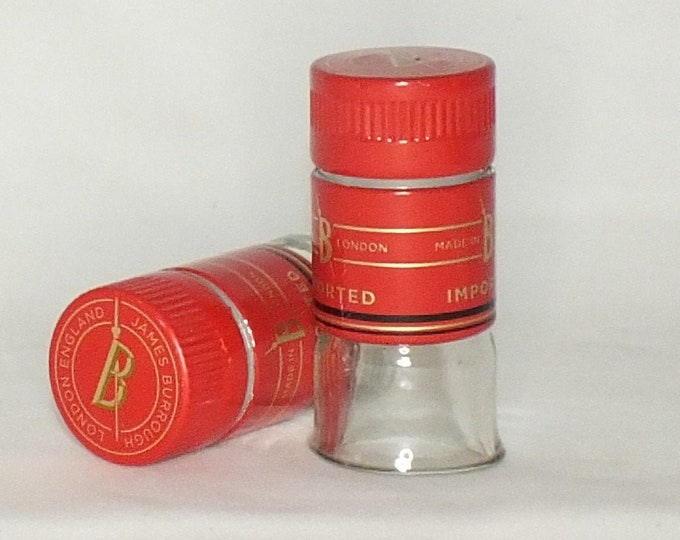 Beefeater Gin - Empty Cut Liquor Bottle Shot Glasses -  Top Glass - Mother's & Father's Day Whiskey Gift - beef eater