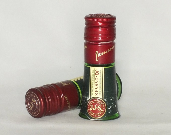 Jameson Shot Glasses - Jameson Irish Whisky Empty Cut Liquor Bottle -  Top Glass - Mother's & Father's Day Whiskey Gift