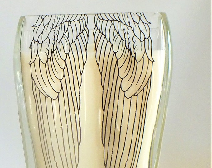Angels Envy Kentucky Straight Bourbon Whiskey Empty Cut Liquor Bottle Candle - Scented Soy Wax -  Whisky Gift Angel's FREE SHIPPING!