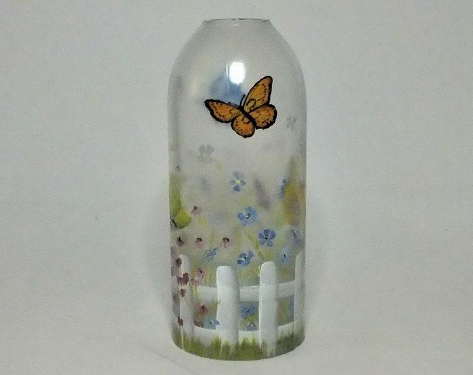 Spring Bottle Lamp Shade - Bar Light - Glass Bottle - Decorative - Free Shipping- Seasonal