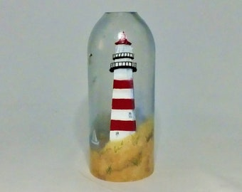 Summer Bottle Lamp Shade - Bar Light - Glass Bottle - Decorative - Free Shipping - Seasonal