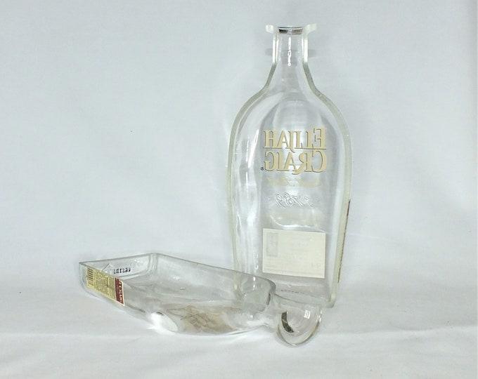 Elijah Craig Kentucky Straight Bourbon Whiskey Liquor Bottle Cigar Ashtray - Nuts Bowl - Jewelry box - Catch it all - Ash tray