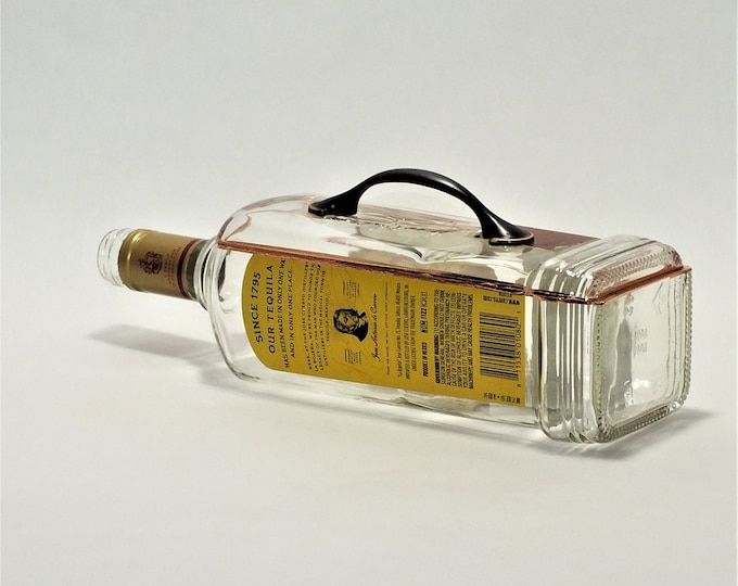 Jose Cuervo Tequila liquor bottle box, Snack Bowl, Party or Candy Dish - Nuts Bowl - Booze - Licor - Jewelry Box - Cigars - Tito's - Empty