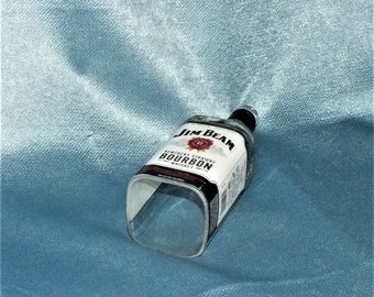 Jim Beam Bourbon Cut Bottle Hanging Light - lamp - Cut Liquor Bottles - Chandelier